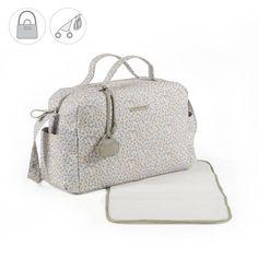 545896516 Bolsa canastilla o bolso para silla de paseo Bouquet en polipiel impresa. Bolsa  para silla