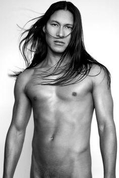 Opinion muscle men nude native american
