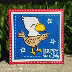 Created using Pretty Cute Stamps Little Eagle set