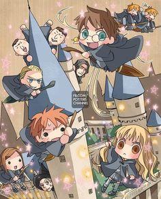 Chibi Hogwarts