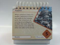 Daily Hadith Calendar