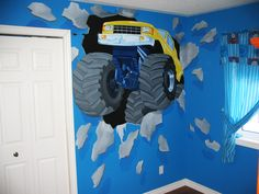 found this and like it and can't wait to paint Tucker's new bedroom...just collecting ideas for now