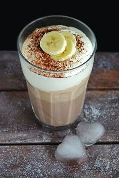 Mrożona kawa bananowa