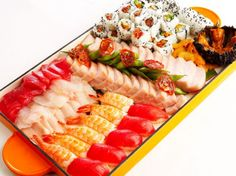 Oscars Governors Ball: Vicarious Travel-Sushi Platter