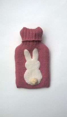 Small Knitted Hot water Bottle Cover £16.00