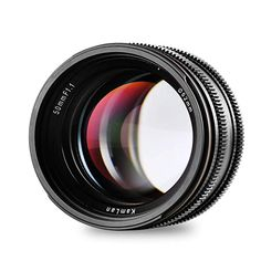 Kamlan APS-C Large Aperture Manual Focus Lens, Standard Prime Lens for Sony E-Mount Mirrorless Camera, Alpha Series and NEX Series Reflex Camera, Sony Camera, Photography Gifts, Camera Photography, Distancia Focal, Off Camera Flash, Sony E Mount, Prime Lens, Aperture