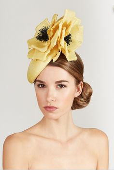 Lock & Co Hatters, Couture Millinery S/S 2015 - The Arva. #passion4hats