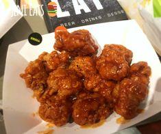 My ode to Buffalo Wild Wings mango habanero wing sauce.