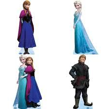 frozen cartoon characters pictures names projects to try