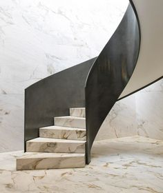 Stunning staircase - Rosewood Tower by Jean Nouvel