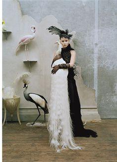 Gen W - Jennifer Lawrence - Photo: Tim Walker - Styliste: Jacob K - La Fiancée… Katniss Everdeen, Foto Fashion, Fashion Shoot, Editorial Fashion, Trendy Fashion, Vogue Editorial, Fashion Portraits, Magazine Editorial, India Fashion