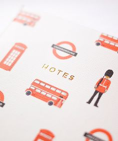 London Notebook - Set of Three