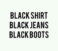 Black ☺. ✿