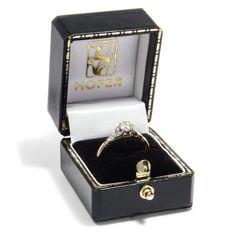 Always on my mind - Ring aus Gold & Platin mit 0,40 ct Diamant, London um…