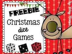 This is just a short 11 page freebie to have for those last 20 minutes or so where you need a fun fill in for the month of December, or to have out during a holiday party. Included are: *cover/credit pages *roll a reindeer ( 2 versions - older/lower grades ) *roll a santa   ( 2 versions - older/lower grades ) *roll an elf     ( 2 versions - older/lower grades ) *roll a snowman ( 2 versions - older/lower grades )   Enjoy!