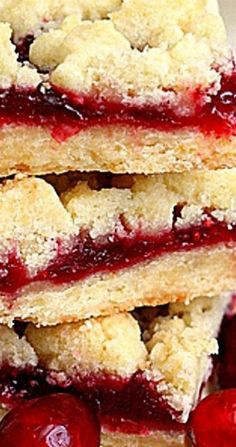 I'm so late to the cranberry party this year. Although I've had a giant bag of cranberries in my freezer for nearly 6 weeks, this is the very first thing I'm Holiday Recipes, Great Recipes, Shortbread Bars, Brown Butter, No Bake Cookies, Cookie Bars, Autumn, Fall, Christmas Baking