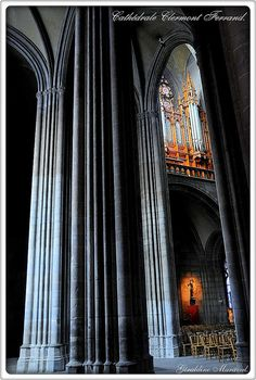 orgues de Clermont-ferrand by géraldine2010, via Flickr
