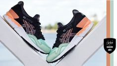 NAKED x Asics Gel Lyte V 'Hafnia' Air Max Sneakers, Sneakers Nike, Asics Gel Lyte, Onitsuka Tiger, Pastel Shades, Nike Air Max, Naked, Kicks, Athletic