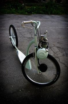 Very cool bike !! solex revisité