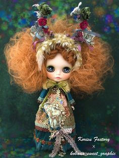 Custom Blythe by Korisu Factory