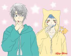 Akatsuki no Yona / Yona of the Dawn anime and manga || Hak and Shin ah <3