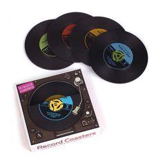 Record Coasters Vinyls
