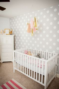 Polka Dot Nursery Design Inspiration