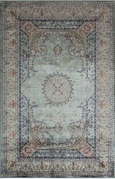 Designer rugs at 60% off! Rugs America Ardahal Ferdous Blue Rug