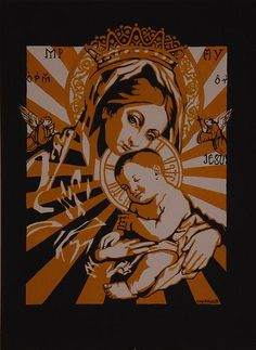 Madonna and Child by Heather Caulfield, via Flickr