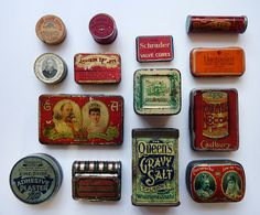 Tins from the UK