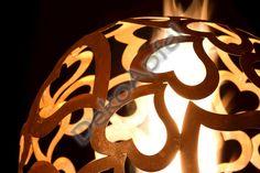 Dekokugel Outdoor und Indoor: Herzkugel Table Lamp, Outdoor, Design, Home Decor, Objects, Characters, Outdoors, Lamp Table, Interior Design