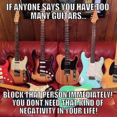 If Anyone Says You Have Too Many Guitars… | Guitar Fail
