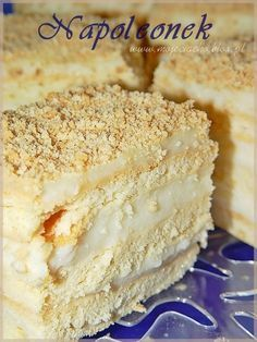 Goat Cheese Cake with Hazelnut, Easy and Cheap - Clean Eating Snacks Polish Desserts, Polish Recipes, Cheap Clean Eating, Clean Eating Snacks, Baking Recipes, Cake Recipes, Napoleon Cake, Cold Cake, Kolaci I Torte
