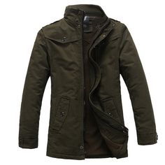 Mens Winter Jackets Thick Warm Cotton-Padded Coats Jacket Winter Parka Men Heren Jassen Doudoune Homme Polo Coat Plus Size