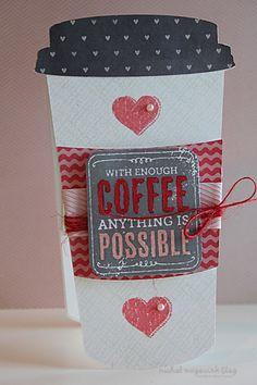 Cute coffee card