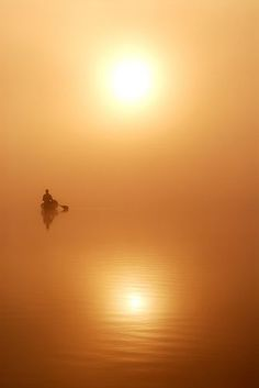 Paddle Two Suns ~ Eagle Lake, Ontario, Canada Cool Pictures, Cool Photos, Voyage Canada, Inspiration Artistique, Image Nature, Light In, Silhouette, Kayaking, Canoeing