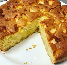 Moelleux aux Pommes au Cookeo One Person Meals, Meals For One, Flan Dessert, Recipe Please, Food Cakes, Creamy Chicken, Shrimp Recipes, Healthy Dinner Recipes, Cake Recipes
