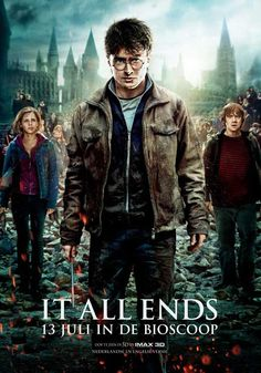 Harry Potter and the Deathly Hallows: Part II (Netherlands) 11x17 Movie Poster (2011)