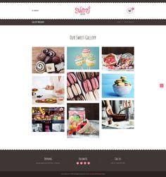 #Sweet #Dessert   Sweet Shop & Cafe #WordPress Theme
