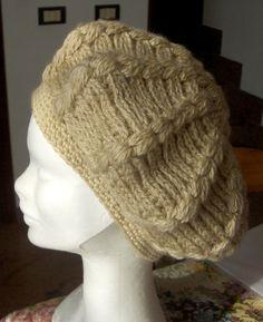 Berretto basco da donna in misto lana   Cappelli c0136d24eadd