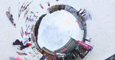Zima na horách, sjezdovky, skicentra - Králicko