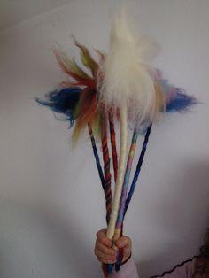 Bacchette magiche in lana fiaba di CreazioniMonica su Etsy