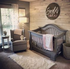The first point to think about when painting a nursery is the way healthy the paint job will be. Decorating a nursery is among the best sections of giving birth to a baby. Whether you're planning an elaborate nursery or… Continue Reading → Baby Boy Rooms, Baby Boy Nurseries, Baby Girl Nursey, Baby Nursery Ideas For Girl, Baby Room Decor For Boys, Baby Girl Nursery Pink And Grey, Rustic Baby Nurseries, Grey Crib, Babies Nursery