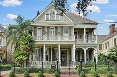 District Center Hall Victorian located at: 1424 7th St New Orleans,LA 70115