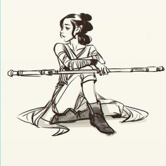 Rey from Star Wars The Force Awakens