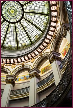 Reason #479 to love Heinen's: They are saving the beautiful old Cleveland Trust Rotunda building and turning it into a downtown grocery store with original architectural details preserved.