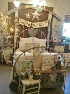 I LOVE the  Good Night sign ~ people love signs and little things to buy for themselves or others that they can easily carry   pack around town!!