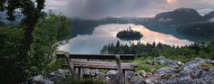 In Bled for my honeymoon and I could not think of a more romantic place!!