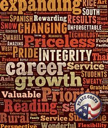 Peace Corps - a life-changing experience Peace Corps, The Republic, Res Life, Motivation, Life Changing, Sayings, My Love, Words, Quotes