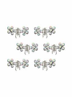 Dorothy Perkins Small Flower Clips | Femmes - Bijoux